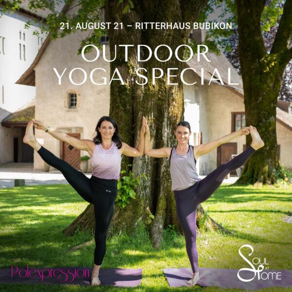 Outdoor Yoga Special im Teamteach